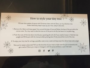 Style your tree instructions